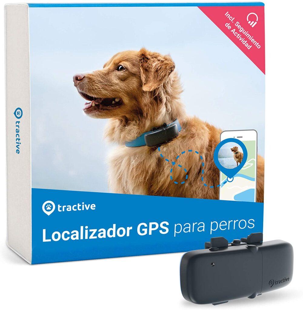 Tractive Localizador GPS para perros rastreador con rango ilimitado seguimiento de actividad resistente al agua